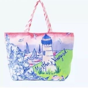 NWT Lilly Pulitzer Martha's Vineyard Bag